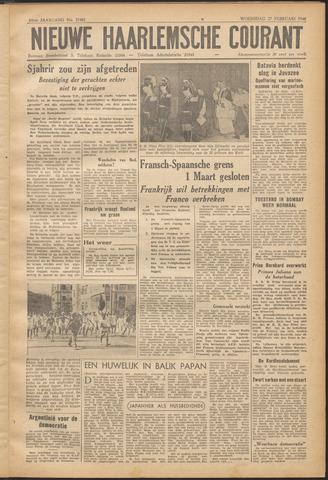 Nieuwe Haarlemsche Courant 1946-02-27