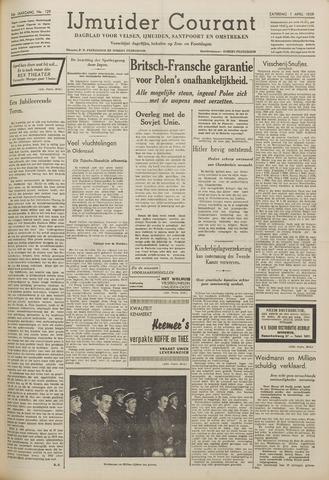 IJmuider Courant 1939-04-01