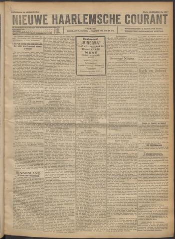 Nieuwe Haarlemsche Courant 1921-01-29