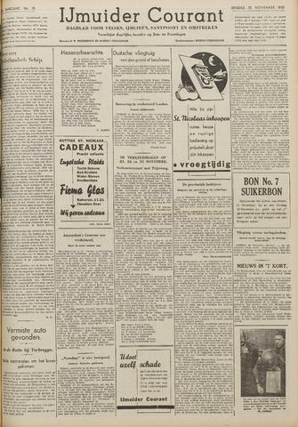 IJmuider Courant 1939-11-21