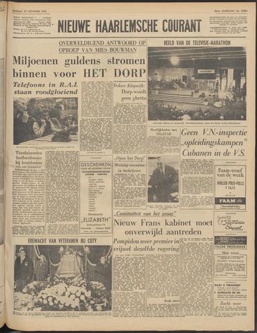 Nieuwe Haarlemsche Courant 1962-11-27