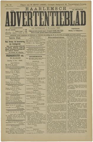 Haarlemsch Advertentieblad 1900-11-03