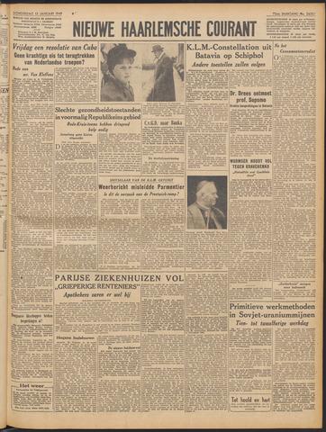 Nieuwe Haarlemsche Courant 1949-01-13