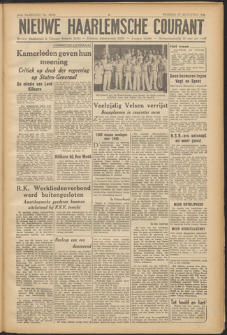 Nieuwe Haarlemsche Courant 1946-08-27