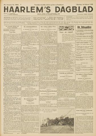 Haarlem's Dagblad 1935-02-18