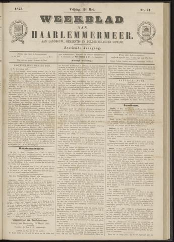 Weekblad van Haarlemmermeer 1875-05-21