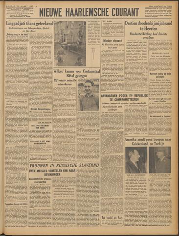 Nieuwe Haarlemsche Courant 1947-03-25