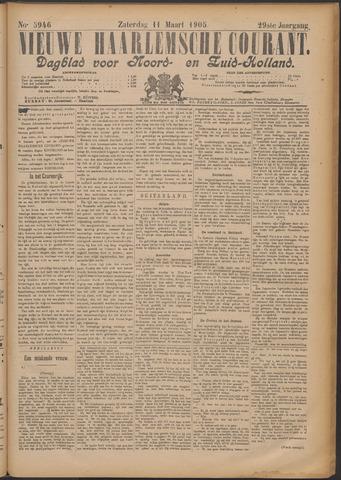 Nieuwe Haarlemsche Courant 1905-03-11