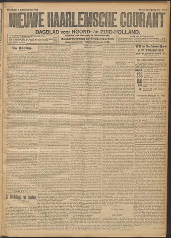 Nieuwe Haarlemsche Courant 1914-08-07