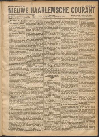 Nieuwe Haarlemsche Courant 1920-08-18