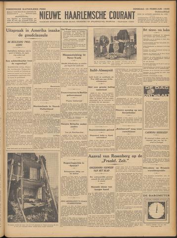 Nieuwe Haarlemsche Courant 1935-02-19