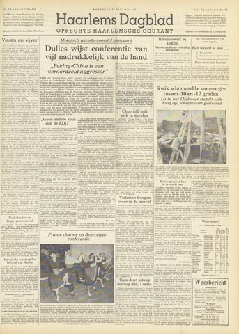 Haarlem's Dagblad 1954-01-27