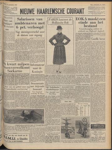 Nieuwe Haarlemsche Courant 1956-08-29