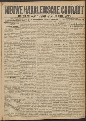 Nieuwe Haarlemsche Courant 1914-11-10