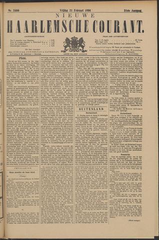 Nieuwe Haarlemsche Courant 1896-02-21