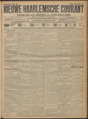 Nieuwe Haarlemsche Courant 1911-02-01