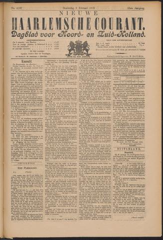 Nieuwe Haarlemsche Courant 1899-02-09