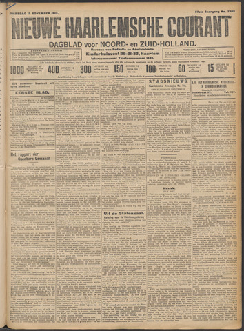 Nieuwe Haarlemsche Courant 1912-11-13