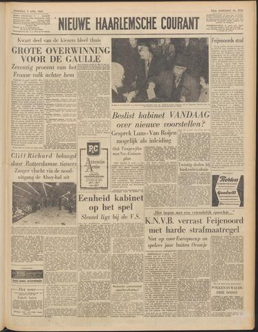 Nieuwe Haarlemsche Courant 1962-04-09