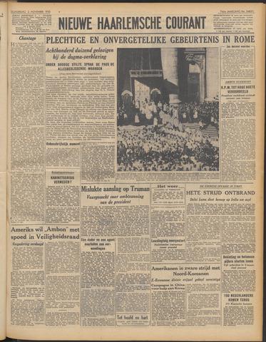 Nieuwe Haarlemsche Courant 1950-11-02