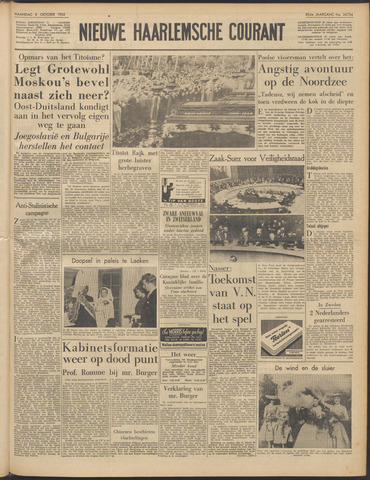 Nieuwe Haarlemsche Courant 1956-10-08