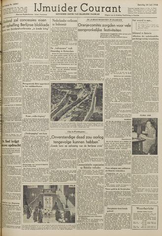 IJmuider Courant 1948-07-24