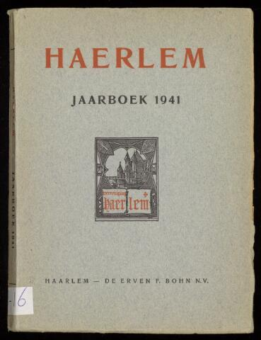 Jaarverslagen en Jaarboeken Vereniging Haerlem 1941