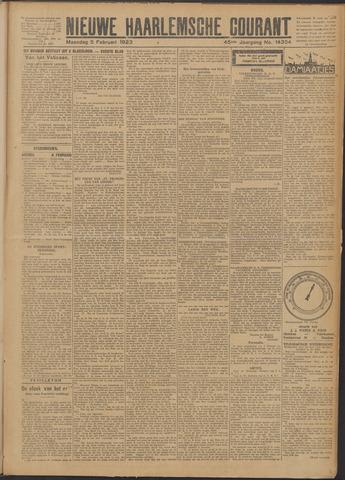 Nieuwe Haarlemsche Courant 1923-02-05