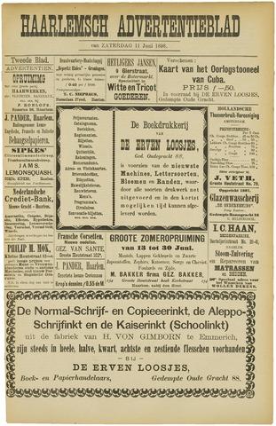 Haarlemsch Advertentieblad 1898-06-11