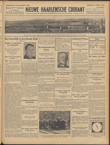 Nieuwe Haarlemsche Courant 1935-04-09