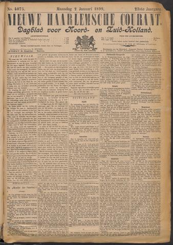 Nieuwe Haarlemsche Courant 1899