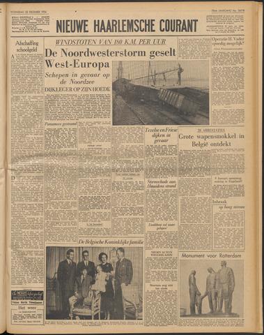 Nieuwe Haarlemsche Courant 1954-12-22