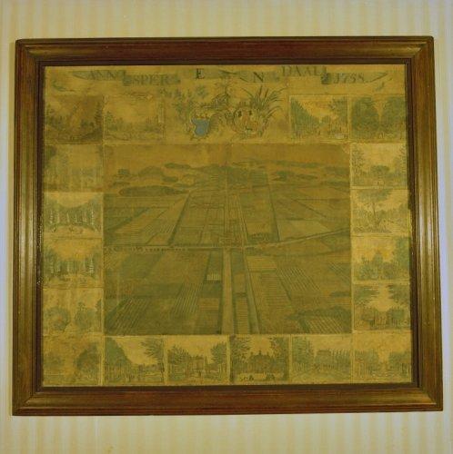 Interieur schilderij van a verrijk 1758 bekijken utrecht altijd - Schilderij van gang ...