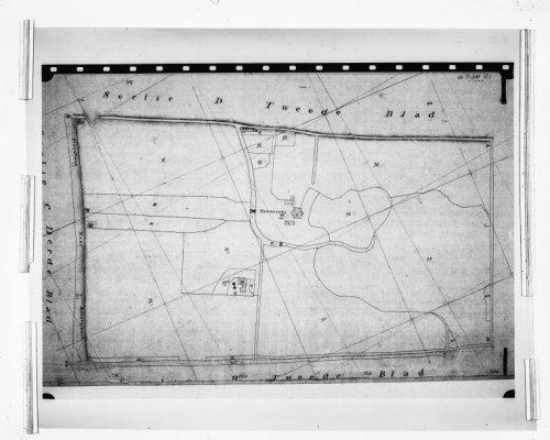 Interieur PLATTEGROND, KADASTRALE MINUUTKAART 1830   Bekijken ...