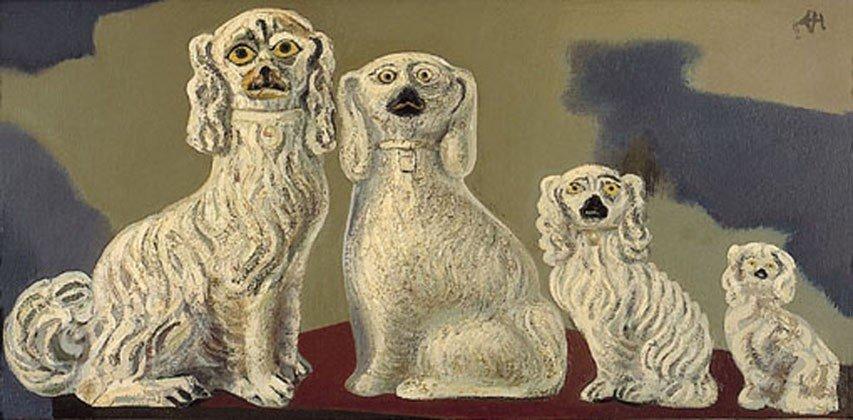 De kennel der porseleinen honden