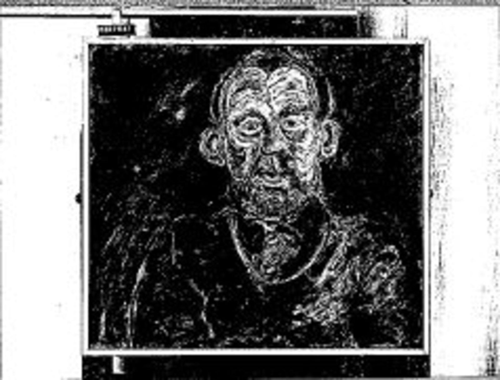 Portret Heer J. van Dijk