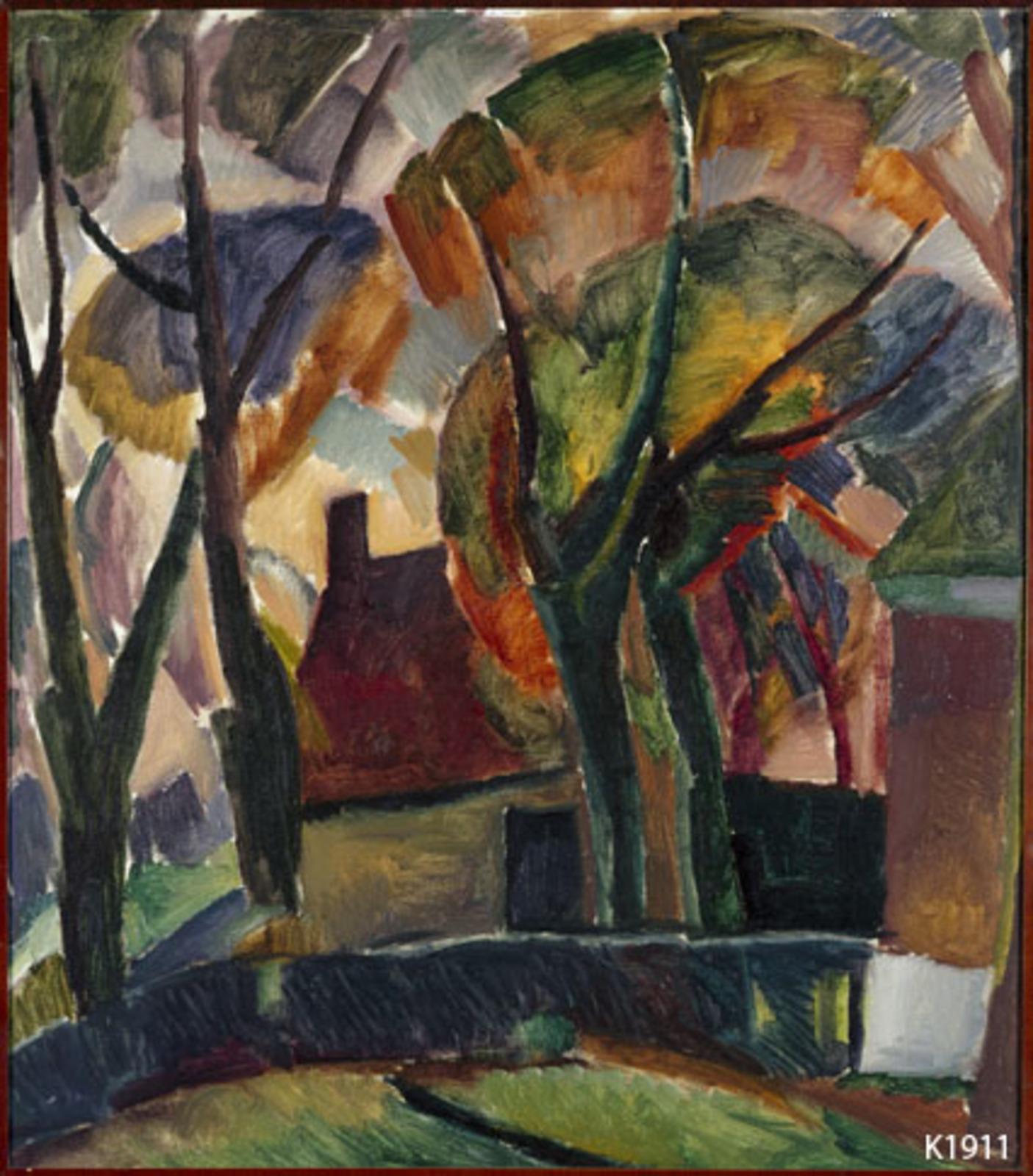 L. Gestel (22-11-1881 - 26-11-1941), Boerderij in de Beemster, 1921 – 1929, Rijksdienst voor het Cultureel Erfgoed