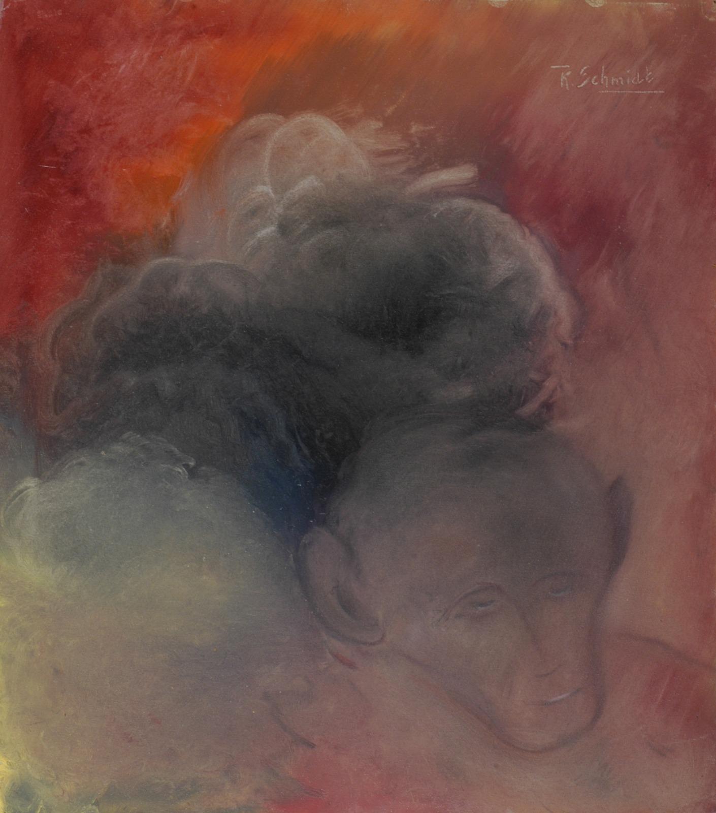 apachtig portret Vervaardiger   Schmidt, K.A. (13-10-1880 - 17-10-1920)  Beschrijving   Portret man met kaal hoofd en ingevallen gezicht, tegen fond in rode en groene tonen.  Identificatie   AB18185  Soort object   waterverfschildering  Dataprovider   Rijksdienst voor het Cultureel Erfgoed  Rechten   http://www.europeana.eu/rights/rr-f/