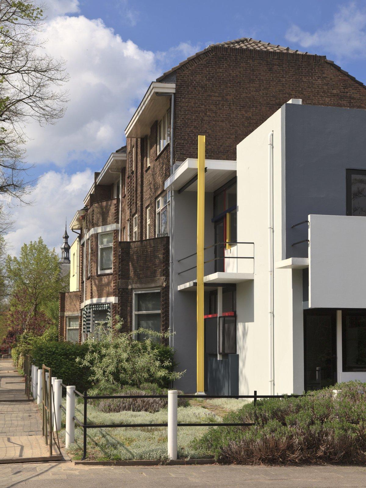 Rietveld Schröderhuis; Prins Hendriklaan 50 Utrecht; exterieur; overzicht; Werelderfgoed Nederland; Unesco; Gerrit Rietveld;Truus Schröder, Visie Erfgoed en Ruimte VER