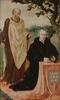 Portret van Matelief Dammasz met de H. Paulus (op de binnenzijde de Sibille Erythrea)