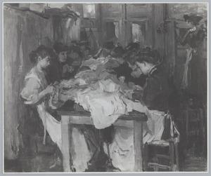 Naaiatelier van Paquin in Parijs