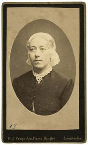 Portret van Theodora Johanna Elisabeth de Gavere (1853-1917)