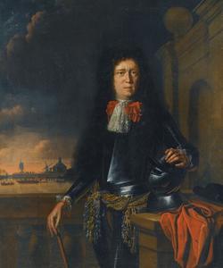 Portret van Joan van Broekhuizen (1649-1707)