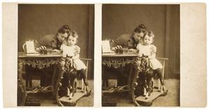 Portret van Anna Maria Wichers (1856-1923) en Willem Doorman (1887-1945)