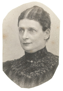 Portret van Amelia Denny (1850-1897)