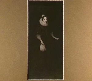 Portret van Elizabeth van de Palts, Koningin van Bohemen