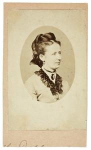 Portret van Maria Henrietta van der Kraan