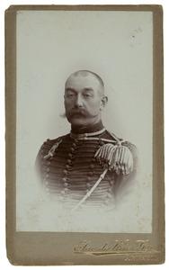 Portret van Leopold baron van Hogendorp (1856-1929)