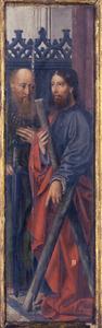 De apostelen Paulus en Andreus