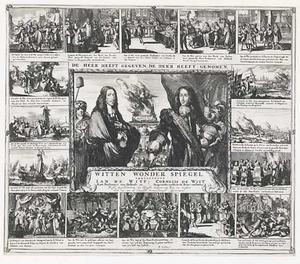 Dubbelportret van Jan de Witt (1625-1672) en Cornelis de Witt (1623-1672)